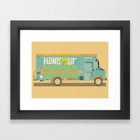 Hangout Music Fest 2014 … Framed Art Print