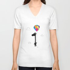 The Happy Flight Unisex V-Neck