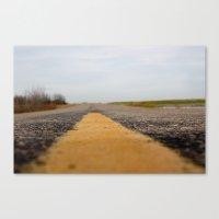 The Everlong Highway Canvas Print