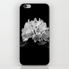 Rhododendron In Black And White iPhone & iPod Skin