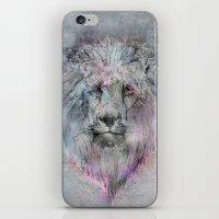 Heart Like A Lion iPhone & iPod Skin