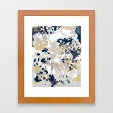 Nigel - Abstract Art Pai… Framed Art Print