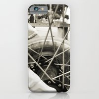 iPhone & iPod Case featuring Across the axes by Leonor Saavedra