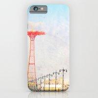 iPhone & iPod Case featuring Brooklyn's Eiffel Tower by Mina Teslaru
