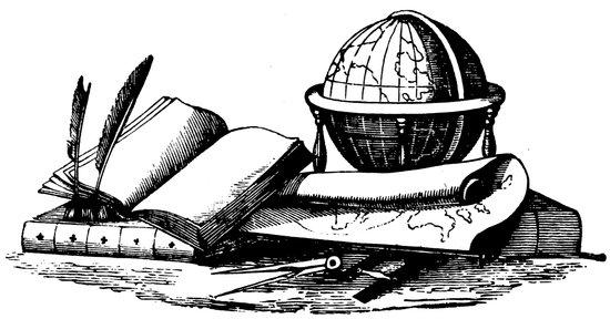 Vintage Globe #2 Art Print