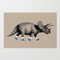 Triceratops Canvas Print