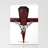 jesus Stationery Cards featuring Jesus by Robert Cooper