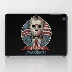 Jason For President iPad Case