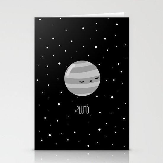Pluto Stationery Card