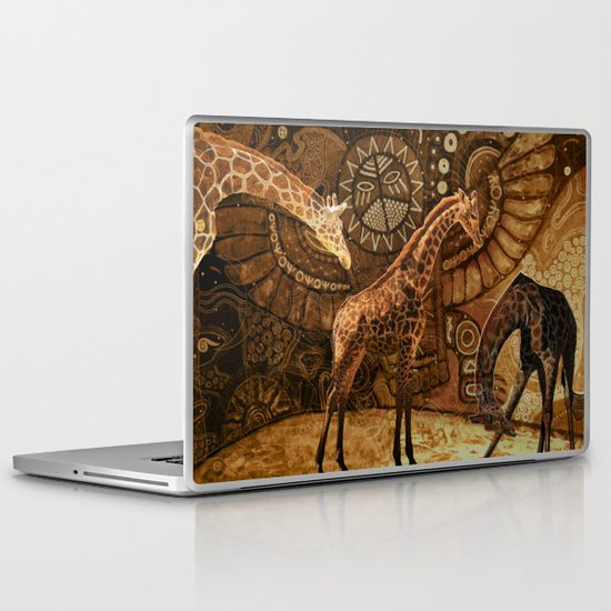 Three Giraffes Laptop & iPad Skin