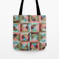Collage Mix Paper Tote Bag
