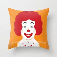 Ronald Throw Pillow