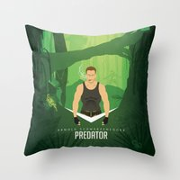 If it bleeds, we can kill it... Throw Pillow