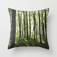 Stilts Throw Pillow