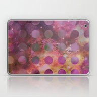 Galaxy In Purple Laptop & iPad Skin