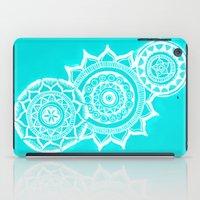 The blue mandalas iPad Case
