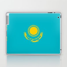 Kazakhstan country flag Laptop & iPad Skin