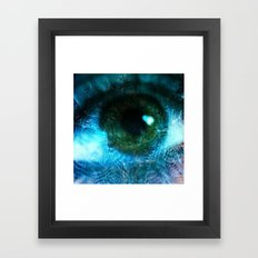 Water Eye Framed Art Print