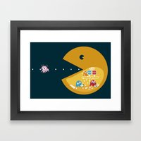 Indoor Games Framed Art Print
