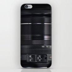 Camera Lens iPhone & iPod Skin