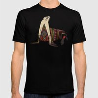 sea lion mono Mens Fitted Tee Black SMALL