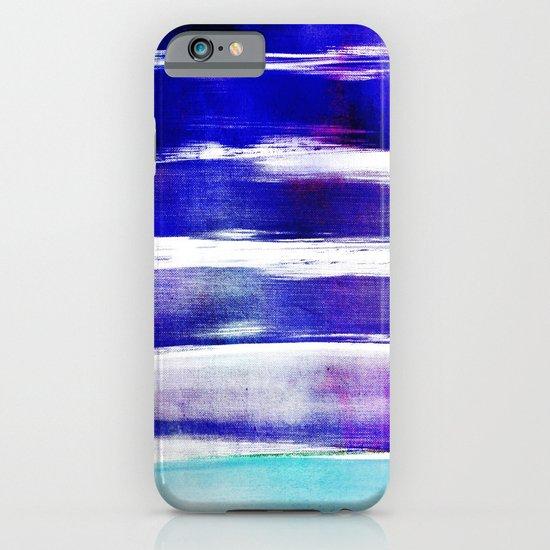 waves - indigo iPhone & iPod Case