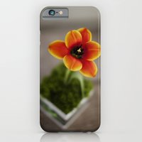 iPhone & iPod Case featuring FLOWER ON FIRE by Eliesa Johnson