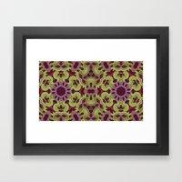 ornamental patience Framed Art Print
