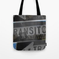 trans trans transito Tote Bag