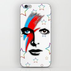 Bowie's Eyes iPhone & iPod Skin