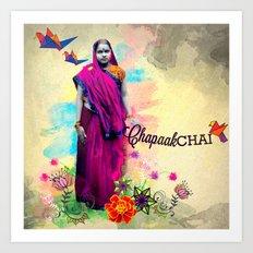 Chapaak Chai Art Print
