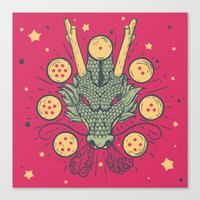 The Cult Of Shenron Canvas Print