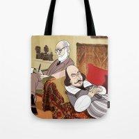 Freud Analysing Shakespe… Tote Bag