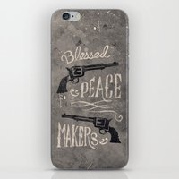 Blessed Peace Makers iPhone & iPod Skin