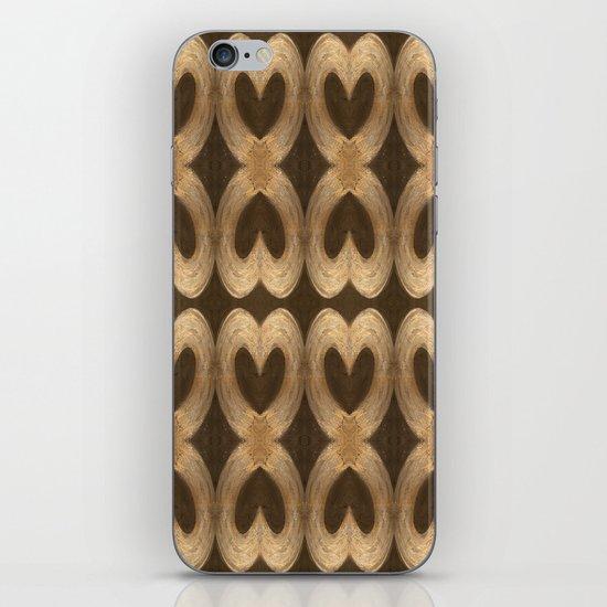 Burleniya hearts (alternative version) iPhone & iPod Skin