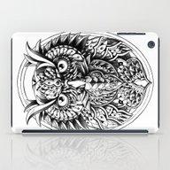 iPad Case featuring Owl Portrait by BIOWORKZ