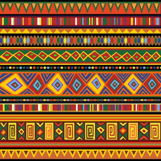 Ethnic Colorful Pattern Africa Art Art Print
