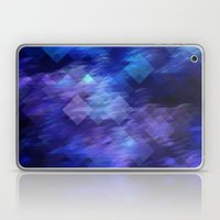 Anemone Wave Pixel Laptop & iPad Skin