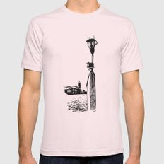 Venice Mens Fitted Tee Light Pink SMALL