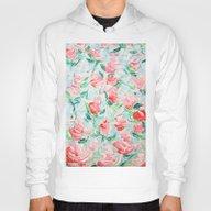 Pompidou Rose Garden Hoody