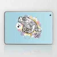 Melodic Frog Laptop & iPad Skin