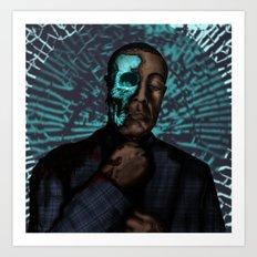 Under the Face Art Print