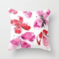 Flower Love Throw Pillow