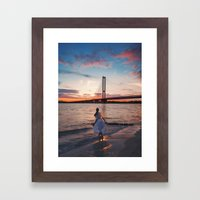 Allusia  Framed Art Print