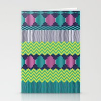 Knitted 2 Stationery Cards