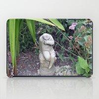 Sitting in the Garden iPad Case