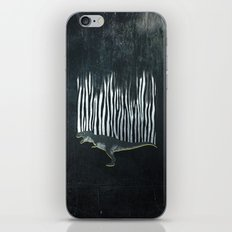 zebrex - the tyrex who wanted to become a zebra  iPhone & iPod Skin