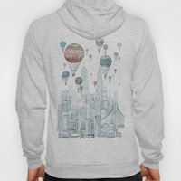 Voyages Over New York Hoody