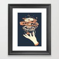 Time Controller Framed Art Print