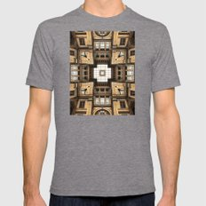Architectural Sky Light … Mens Fitted Tee Tri-Grey SMALL